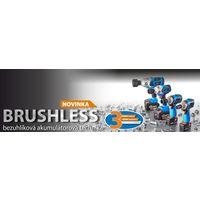 BRUSHLESS bezuhlíková akumulátorová technika NAREX