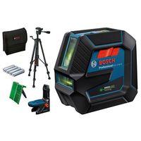 Zelený čárový laser GLL 2-15 G a kombinovaný GCL 2-50 G
