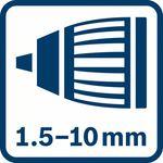 Sklíčidlo Autolock 1,5–10,0mm