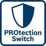 Výjimečná ochrana uživatele; Ochranný spínač okamž