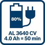 4,0Ah akumulátor nabitý na 80_% za 50_minut sGAL
