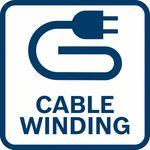 Pohodlné; díky funkci nabíjení kabelu