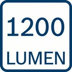 1200 lumenů