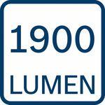 1900 lumenů