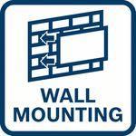 Možnost upevnění na zeď