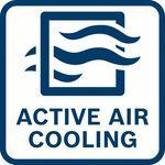 Rychlejší nabíjení; díky aktivnímu chlazení