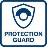 Výjimečná ochrana uživatele; díky vkrutu odolnému