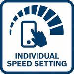 Individuální nastavení rychlosti