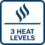 Tři teplotní nastavení pro optimální pohodlí za ch