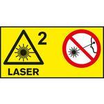 Laserová třída 2; Laserová třída u měřicích přístr