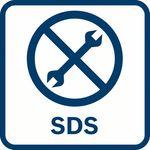 Bosch SDS-systém; Rychlá výměna nástavců bez další