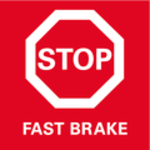 Fast Brake (rychlá brzda)<br/> Brzda doběhu kdosažení vyšší bezpečnosti rychlým zastavením nástroje.