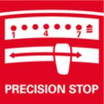 Precision Stop<br/> Elektronická momentová spojka se zvýšenou přesností pro přesnou práci scitem