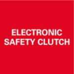 Elektronické bezpečnostní vypnutí motoru při zablokování nástroje k bezpečné práci