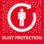 Optimální ochrana proti prachu<br/> Pro čistou a příjemnou práci: Okamžité efektivní odsávání třísek a prachu